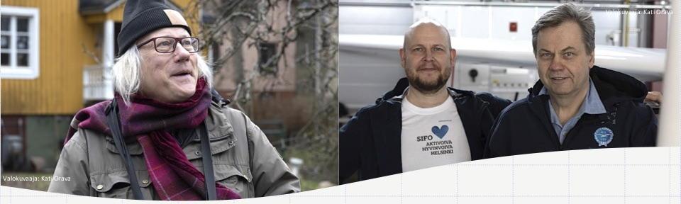 Tapani Veistola, Nazzareno Sifo ja Janne Vasama
