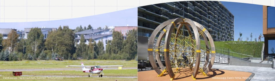 Pienlentokone Malmin lentoasemalla, uutta rakentamista